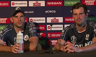 Press Conference: Scotland score great win over Afghanistan in ICCWCQ opener