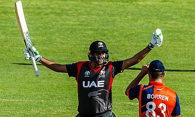UAE batsman Chirag Suri