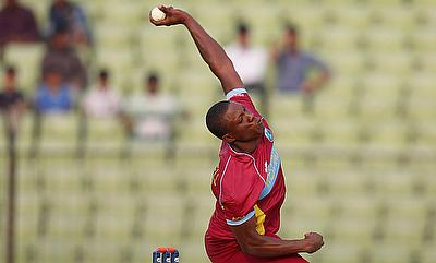 Sheldon Cottrell has picked seven wickets from five ODIs