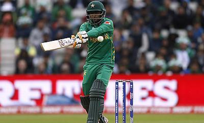 Babar Azam scored 58 runs for Karachi Kings
