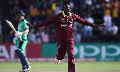 Kesrick Williams (right) has been impressive for Windies