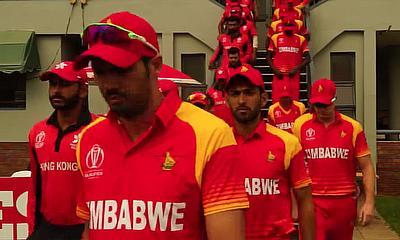 Highlights of Zimbabwe v Hong Kong: ICC World Cup Qualifier