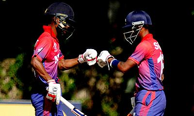 Nepal batsmen Rohit Paudel and Somal Kami shared unbeaten 89 run stand