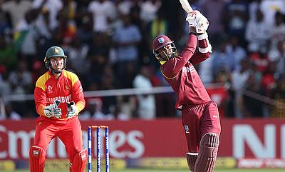 Marlon Samuels (right) played a match-winning performance