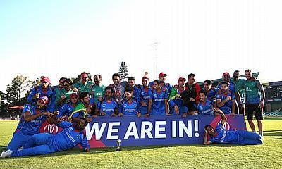 Afghanistan celebrating their qualification to the 2019 World Cup after win over Ireland