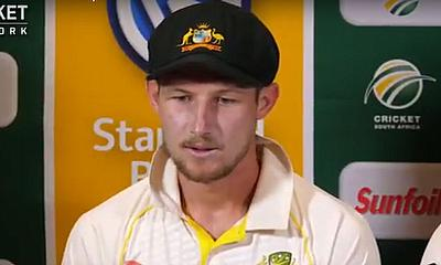 Steve Smith and Cameron Bancroft press conference