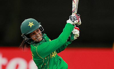 Javeria Khan scored a half-century in the chase