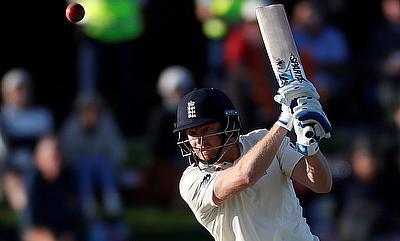 Jonny Bairstow scored an unbeaten 97 on day one of Christchurch Test