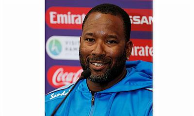 West Indies bowling coach Corey Collymore