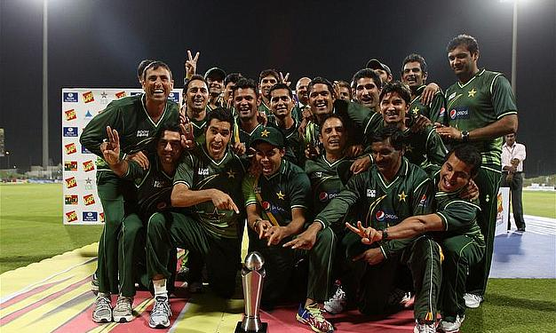 Pakistan Hold Nerve To Beat Sri Lanka