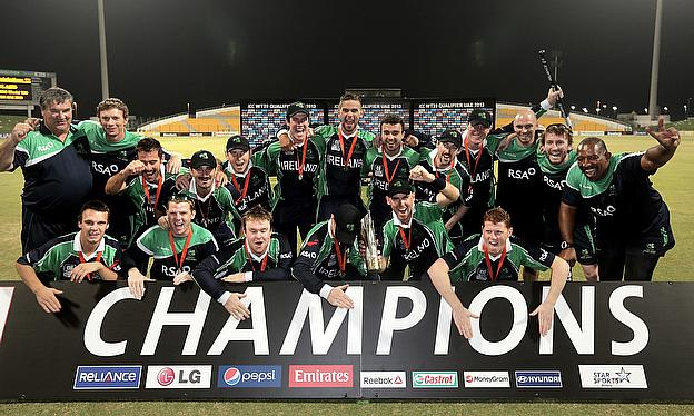 Ireland Thump Afghanistan To Win Treble