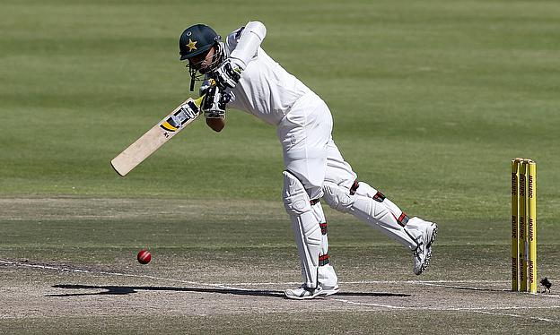Azhar Ali plays a shot