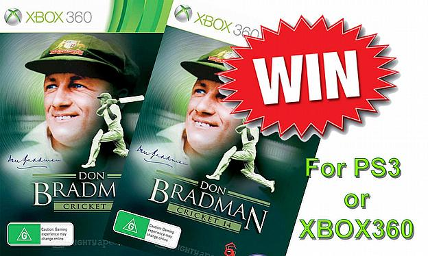 Win A Copy Of Don Bradman Cricket 2014