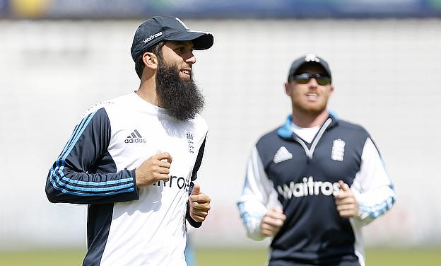Moeen Ali (left) may remain as England's spin option for some time to come
