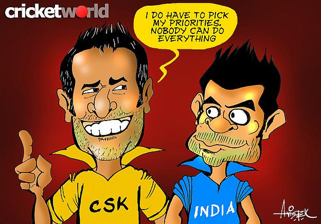 MS Dhoni Gets His Priorities, Right?