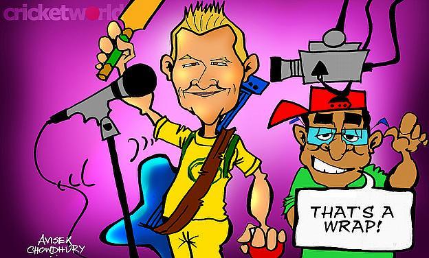 Cartoon: Multi-Talented Brett Lee