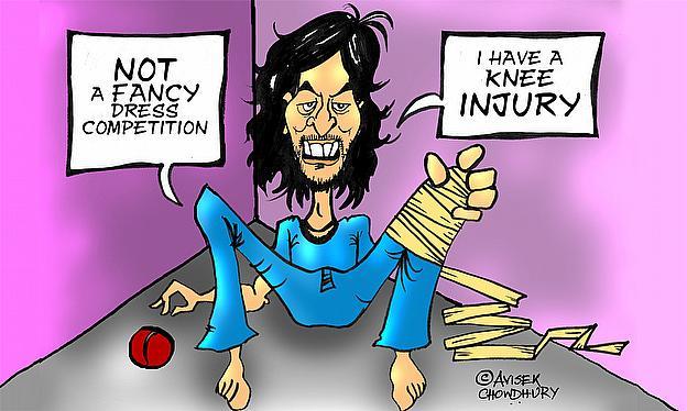 Cartoon: Ishant Sharma Ruled Out Of World Cup