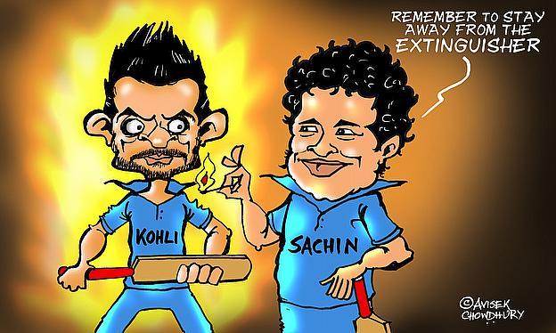 Tendulkar Backs Kohli To Fire In WC