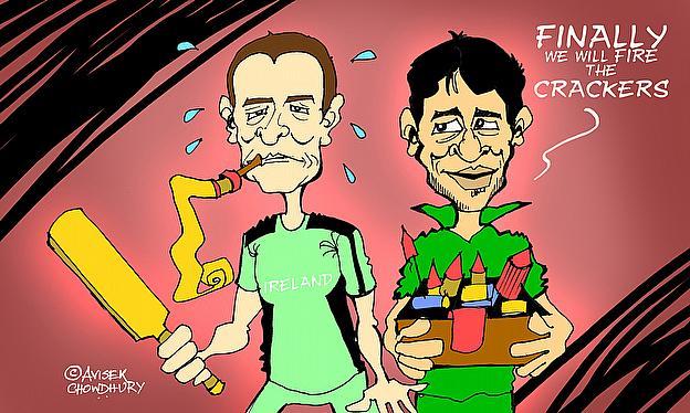 Cartoon: Pakistan Beat Ireland To Reach Quarter-Finals