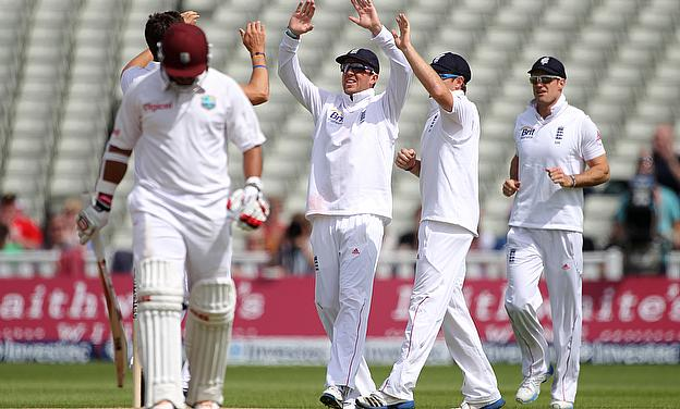England take on West Indies