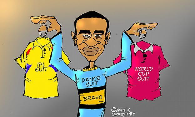 Cartoon: Dwayne Bravo's Dilemma