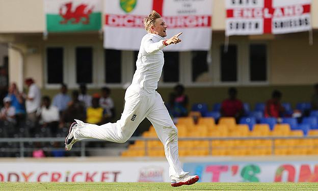 Joe Root could be England's star performer in the West Indies - here he is celebrating a wicket in Antigua