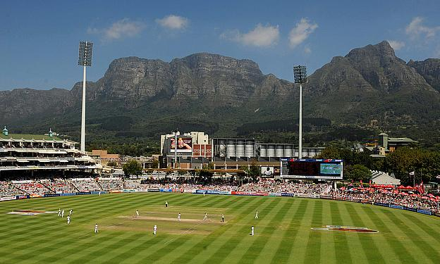 General view of Newlands, Cape Town