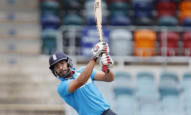 Ravi Bopara in action for England