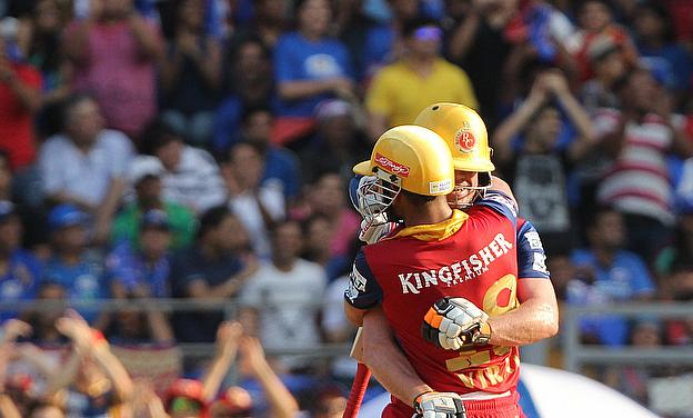 This partnership between AB de Villiers and Virat Kohli was a major highlight of the week's IPL action