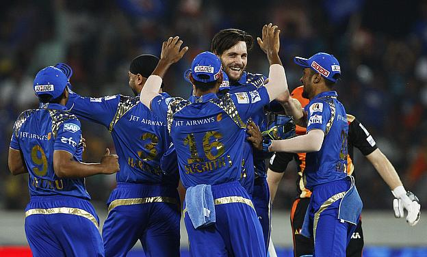 Mitchell McClenaghan registered figures of 3-16 as Mumbai Indians finished second on the 2015 Indian Premier League points table beating Sunrisers Hyd