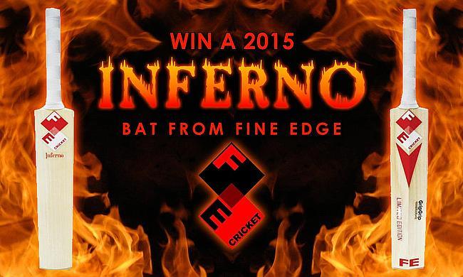 Win a Fine Edge Inferno cricket bat