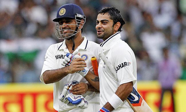 Virat Kohli hails MS Dhoni as most successful Indian captain ever