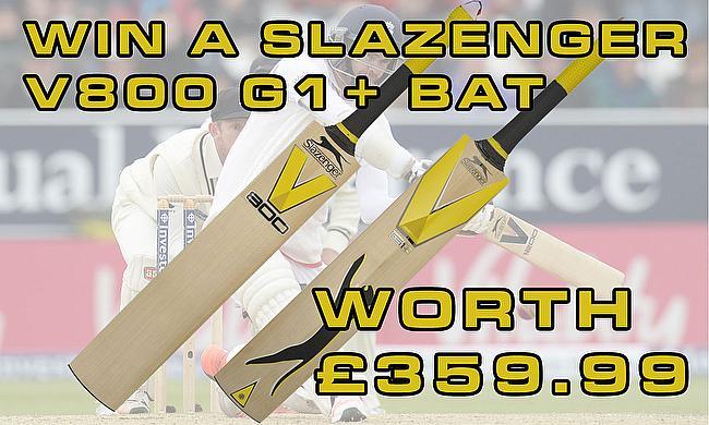 Win a Slazenger V800 G1+ bat
