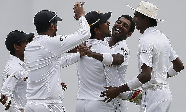Dhammika Prasad was exceptional with the ball as Sri Lanka managed to put Pakistan on the back foot in Pallekele.