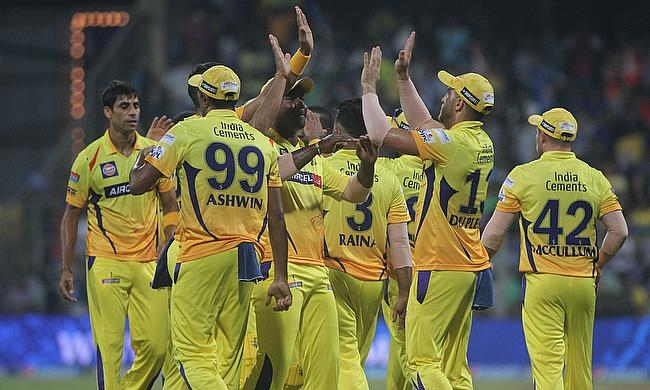 Chennai Super Kings have been suspended from the IPL