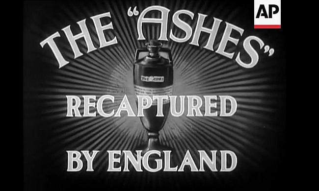 The Ashes Recaptured - AP archive screengrab