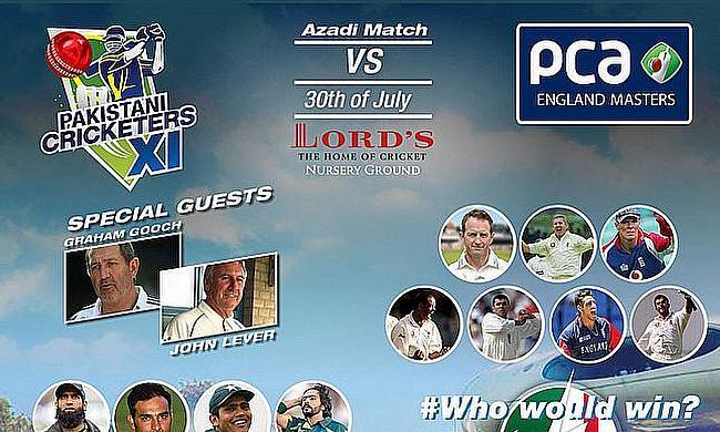 Azadi match 2015 at Lord's