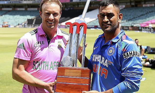 AB de Villiers and MS Dhoni
