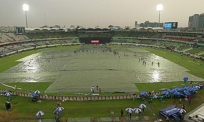 Weather continues to play spoilsport in Mirpur