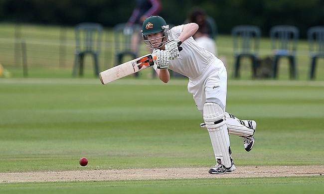 Alex Blackwell struck 115 for the Australians