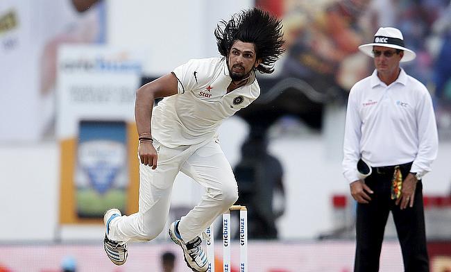 Pretty happy wth a green wicket - Ishant Sharma