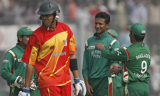 Zimbabwe to tour Bangladesh in November