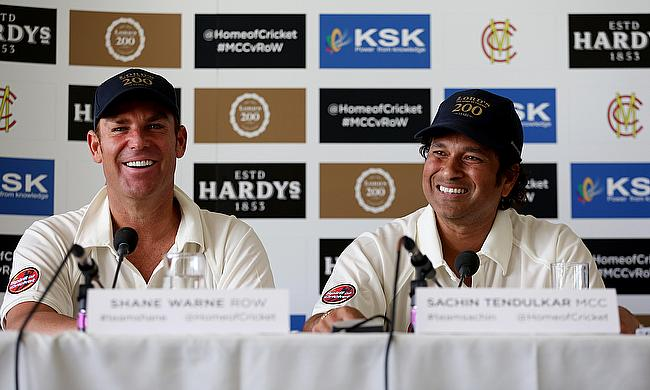 Shane Warne and Sachin Tendulkar will captain the All Star teams