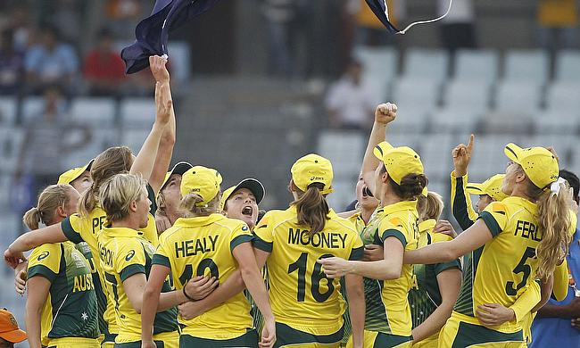 Australia are the reigning ICC Women's World T20 champions