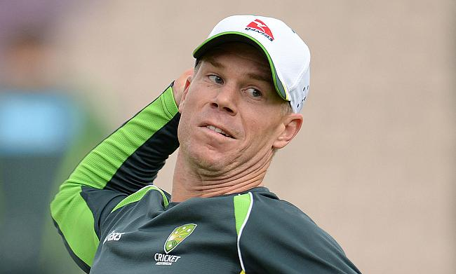 David Warner will return to action after recovering from a fractured thumb.