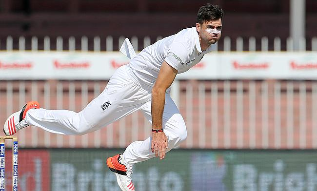 At the end of day four of the third Test in Sharjah, James Anderson tops the list for leading wicket takers in the series.