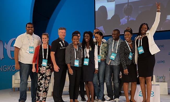 Steve Waugh launches promise by One Young World delegates to champion West Indies cricket.