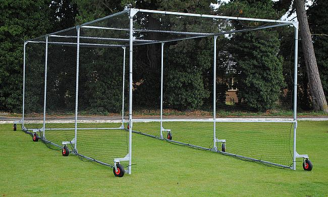 Durant supply clubs all over the UK with ground equipment - including cages and nets