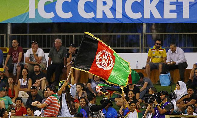 Afghanistan fans during the 2015 World Cup
