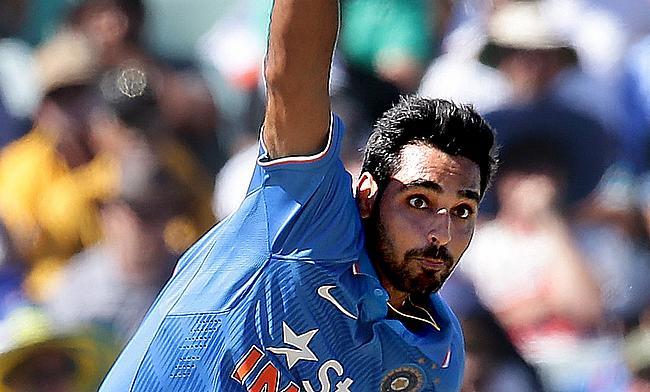 Rishi Dhawan replaces Bhuvneshwar Kumar in India T20 squad